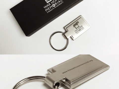 The Wa Hores Memorial Rectangular Classic Keyring