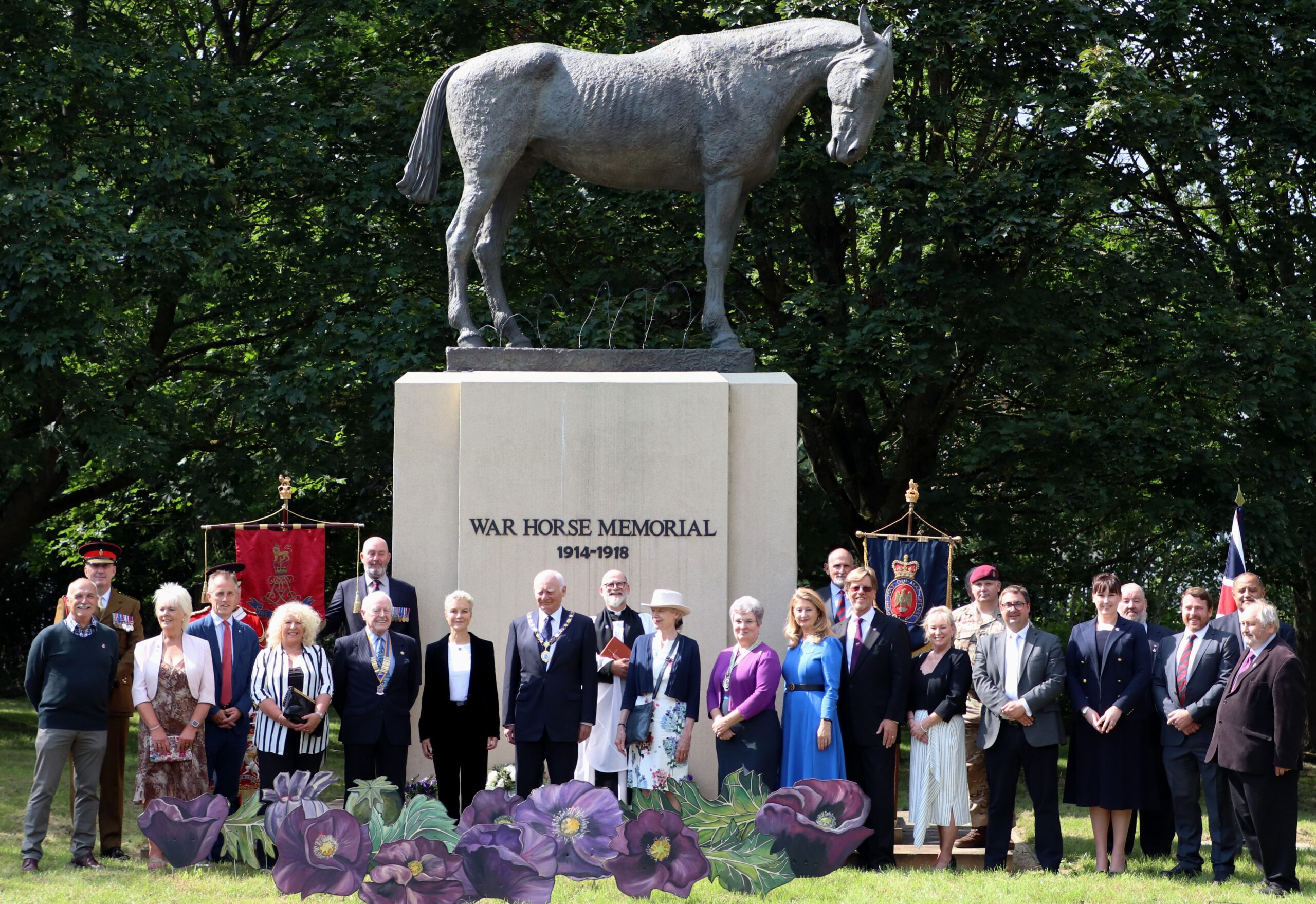 National War Animal Day launched in Ascot