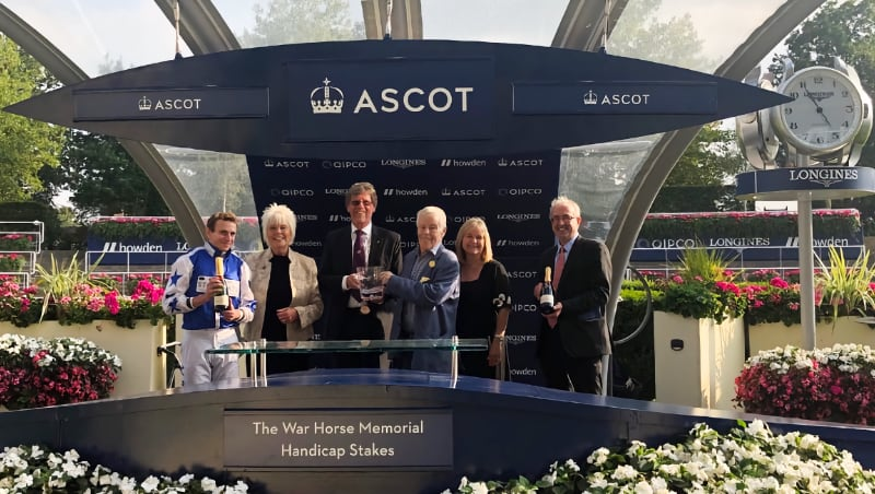 And we're off! Day to remember at Ascot racecourse